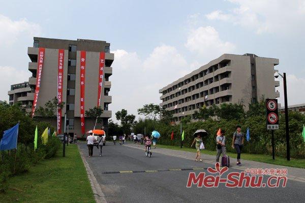 中国美术学院喜迎2013级新生