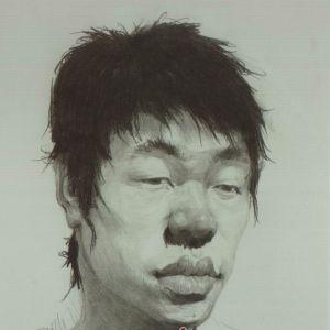 素描头像青少年头像技法正侧面侧面素描范画