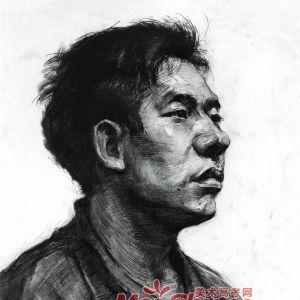 素描人头像写生-人物头像