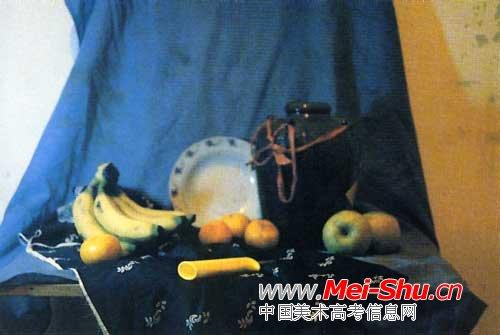水果,瓦罐冷光集写生步骤