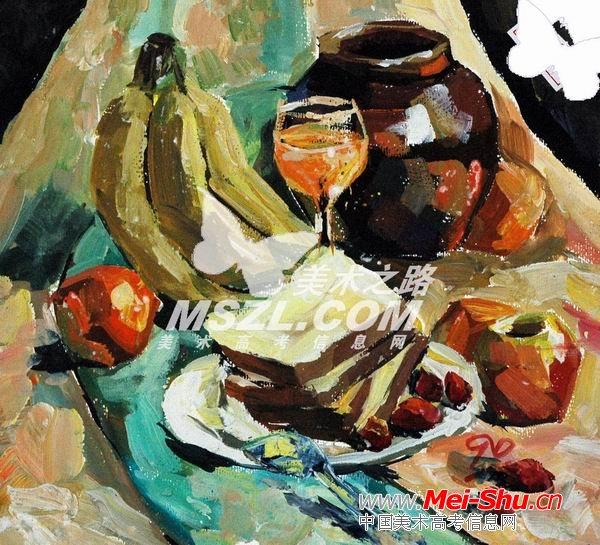 西安美术学院色彩优秀试卷056 - 中国美术高考