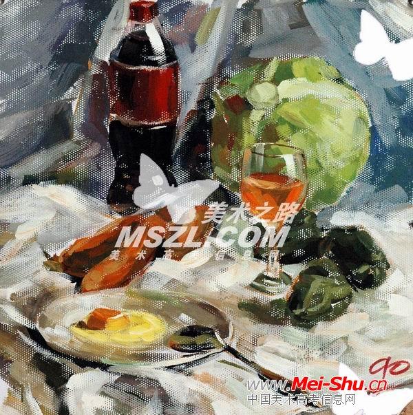 西安美术学院色彩优秀试卷148 - 中国美术高考
