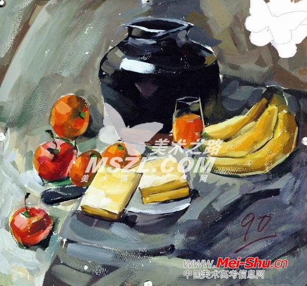 西安美术学院色彩优秀试卷306 - 中国美术高考