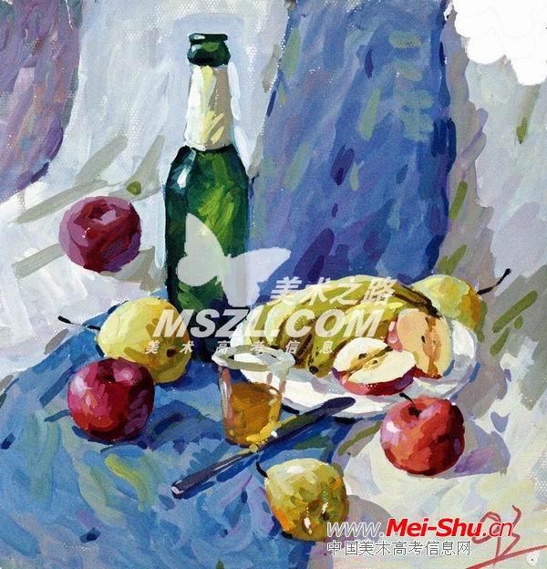 西安美术学院色彩优秀试卷415 - 中国美术高考