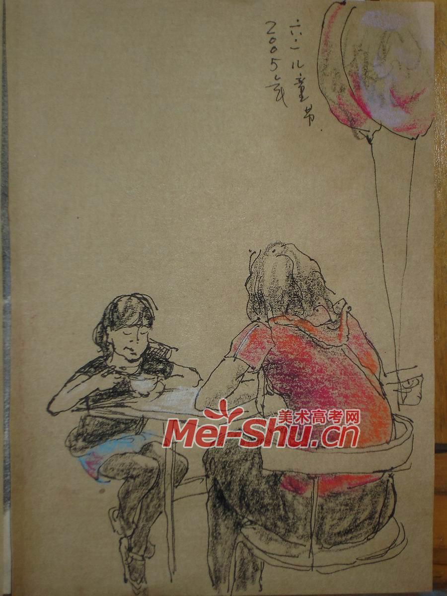 人物速写组合 人物,老人,蹲着的人,蹲姿,吃饭的人,组合速写图片