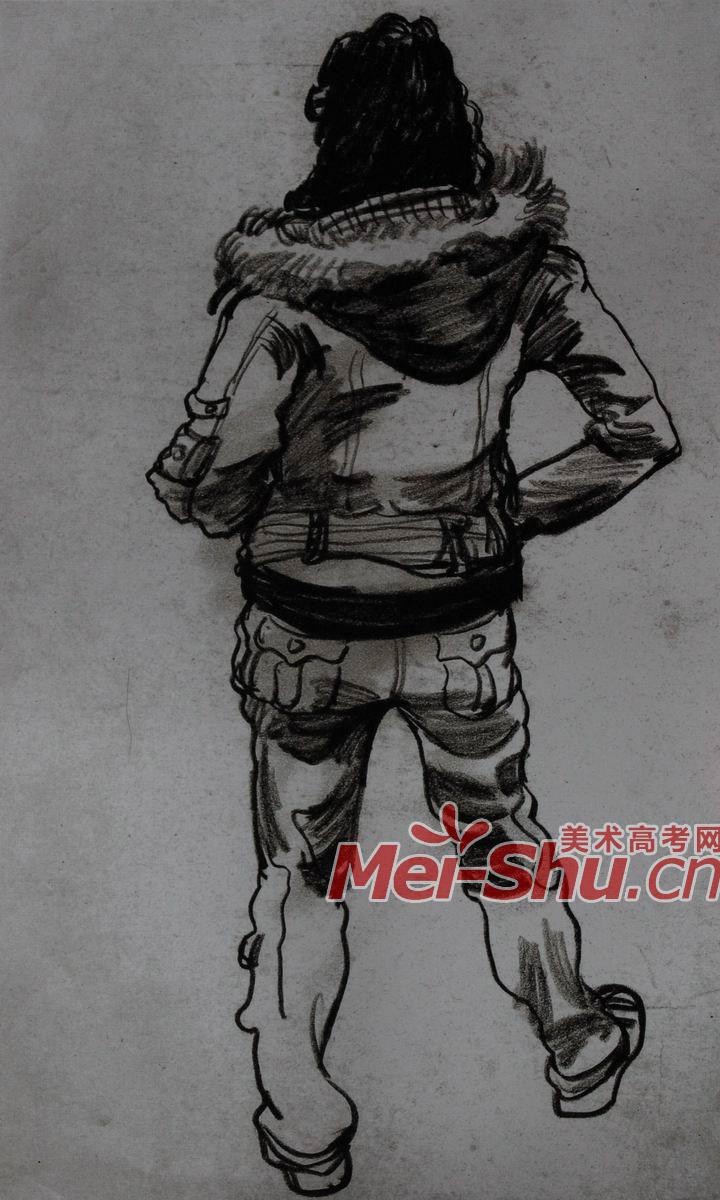 男生背书包背面头像_背书包的男生头像