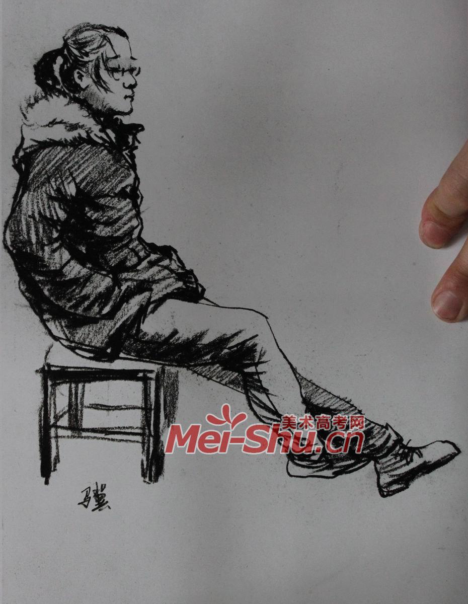 人物速写 看书姑娘,青年,坐着的人,靠背的人,画速写,正侧图片