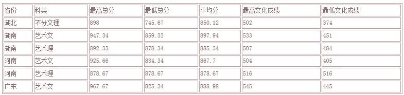 武汉大学文科类专业_2013年武汉大学艺术类专业录取分数线_中国美术高考网