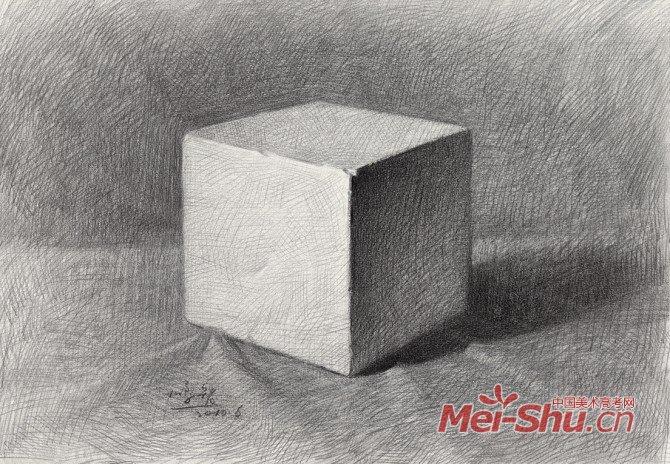 石膏几何体画法详解