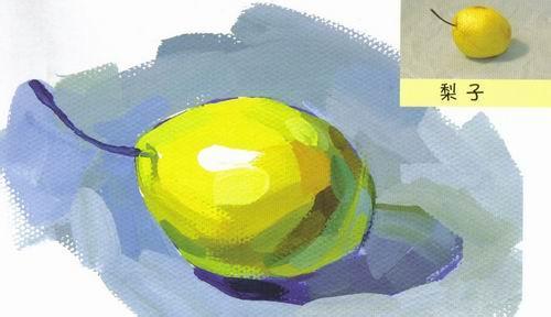 绿梨 手绘