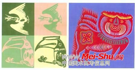 动物装饰画 中国 美术 高考网